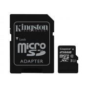 Kingston - Carte mémoire flash (adaptateur microSDXC vers SD inclus(e)) - 256 Go - UHS Class 1 / Class10 - microSDXC UHS-I