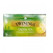 Twinings Green Pineapple Grapefruit ceai verde cu ananas si grapefruit 25 pliculete