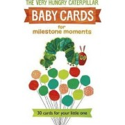 Very Hungry Caterpillar Baby Cards: for Milestone Moments by Eric Carle