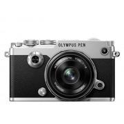Aparat foto digital Olympus PEN-F 1718 Kit slv/blk / PEN-F silver + EW-M1718 black
