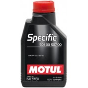 MOTUL Specific 504 00 507 00 5W30 1 litru