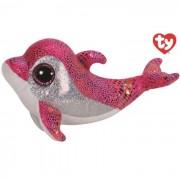 Ty delfino peluche sparkles collezione beanie boos 28 cm