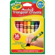 Il mio primo Crayola pastelli triangolari lavabile 16/Pkg-