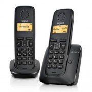 Telefon fix Gigaset A120 Duo fara fir Negru