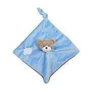 King Bear - 3374200 Tray 25 x 25 cm - SOFT TOY LITTLE BEAR - BLUE