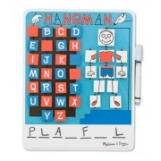 Flip to Win Wooden Travel Game Hangman by Melissa & Doug