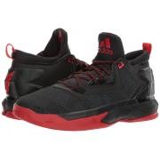 adidas D Lillard 2 BlackScarletBlack