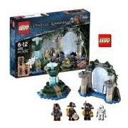 LEGO Pirates of the Caribbean Fountain of Youth 128pieza(s) - juegos de construcción (Película, Multicolor)