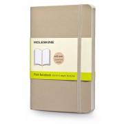 Moleskine - Blanko Notizbuch Pocket, Softcover, khaki