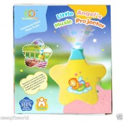 Little Angels Musical Night Projector Star for Newborn Baby Infants