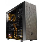 BitFenix Neos Midi-Tower Boîtier pour PC (ATX, 3.5 mm, USB 2.0, USB 3.0), noir/or
