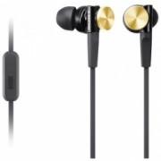 Sony MDR-XB70AP - Casti audio in-ear, Control Telefon, Extra Bass - negru cu auriu