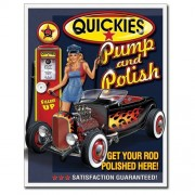 """Sign - Quickies Pump and Polish"""