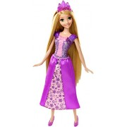 Princesas Disney - Muñeca Rapunzel purpurina (Mattel CFF68)