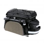 Norco Kansas Gepäckträgertasche schwarz/silber Gepäckträgertaschen