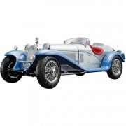 Alfa Romeo 8c 2300 Spider Touring 1932 1:18 zilver