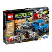 Lego Klocki LEGO Speed Ford F-150 Raptor i Ford Mod. A Hot Rod + DARMOWY TRANSPORT!
