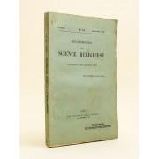 Recherches De Science Religieuse. 8e Année. N° 1 - 2 : Janvier - Mars 1917 : [ Contient : ] Adhémar D'alès : Science Divine Et Décrets Divins. A Prop