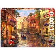 Educa Children's 1500 Sunset in Venice Puzzle (Piece)