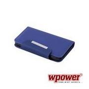 Samsung Galaxy S5 mágneses telefontok, kék