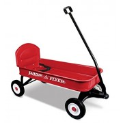 Radio Flyer - Carretilla, color rojo (93BA)