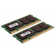 Crucial 2 GB SO-DIMM DDR2 - 667MHz - (CT2KIT12864AC667) Crucial Kit CL5