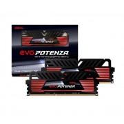 16 Go Kit Barrettes Mémoires (RAM) DDR3 EVO Potenza Black PC3-19200 2400MHz CL11 (2x8Go)