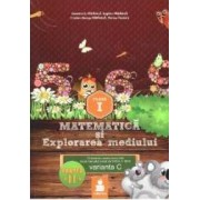 Matematica si explorarea mediului - Clasa 1 - Partea A II-A - Varianta C - Ed.2015 - Dumitru D. Paraiala