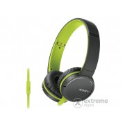 Căști Sony MDRZX660APG.CE7.Beat Response Control, verde