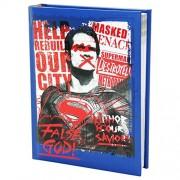 Dc Comics Superman Agenda Escolar Diario Azul 10 Meses