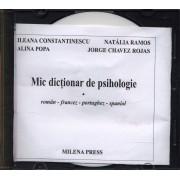 Mic dictionar de psihologie roman-francez-portughez-spaniol