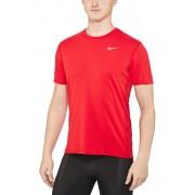 Nike Dri-FIT Contour Maglietta da corsa rosso M Magliette da corsa