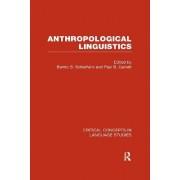 Anthropological Linguistics by Bambi B. Schieffelin