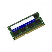 Memoria ADATA SODIMM DDR3 PC3-10600 (1333MHz), 4 GB. AD3S1333W4G9-S