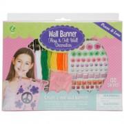Iris Wall Banner Kit-Peace & Love