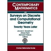 Surveys on Discrete and Computational Geometry by Jacob E. Goodman