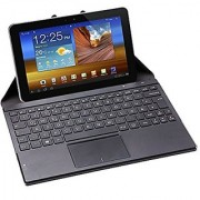 Perixx PERIDUO-880 Bluetooth Keyboard with Touchpad - Multi-touch Support with Windows 7 and 8 - Portable Cover with built-in Stand for Tablet and Smart Phone User