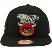 Boné New Era 950 Of An Angry Birds Chicago Bulls
