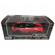 Pagani Huayra Red with Black Wheels 1:24 Scale Diecast Car
