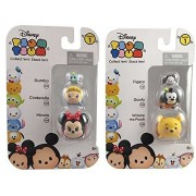 Disney Tsum Tsum Squishy Series 1 Bundle: 2 Collectible Figure Packs, Figures Vary, Visibly Different Figures In Each Pack