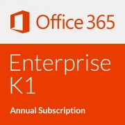 Microsoft Office 365 Enterprise K1 - Annual subscription (1 Year)