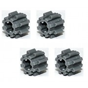 Lego Parts Technic Gear 8 Tooth Type 2 PACK of 4 - DBGray