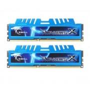 Mémoire LONG DIMM DDR3 DIMM 16 GB DDR3-1600 Kit F3-1600C9D-16GXM, RipjawsX 16 GB CL9 09/09/24 2 barettes