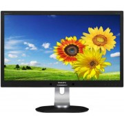 "Monitor IPS LED Philips 23"" 231P4QPYEB/00, Full HD (1920 x 1080), DVI-D, 7ms GTG, Boxe (Negru)"