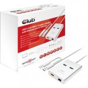 SenseVision USB 3.0 - HDMI en ethernet Adapter