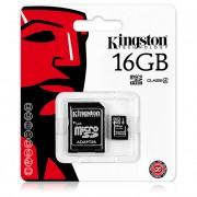 Card memorie Kingston MicroSDHC 16Gb Blister
