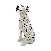 Melissa & Doug Giant Dalmatian - Lifelike Stuffed Animal Dog (over 0.5 meters tall)