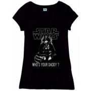 Tricou dame - Star Wars - Who's Your Daddy