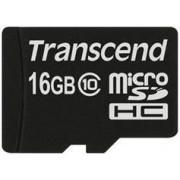Card de memorie Transcend microSDHC, 16GB, Clasa 10, pana la 23 MB/s