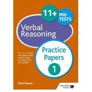 11+ Verbal Reasoning Practice Papers 1 by Chris Pearse